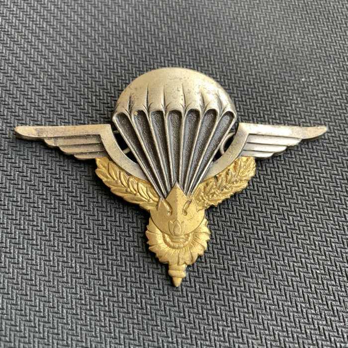 LAOS CAMBODGA PARA Parachute Wing Insignia Badge Drago Paris Badge