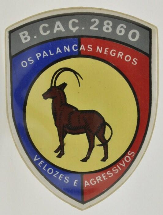 ANGOLA Hunter Company 2641 Portugal Battalion Caçadores 2860 Patch Badge 1969 - 1971