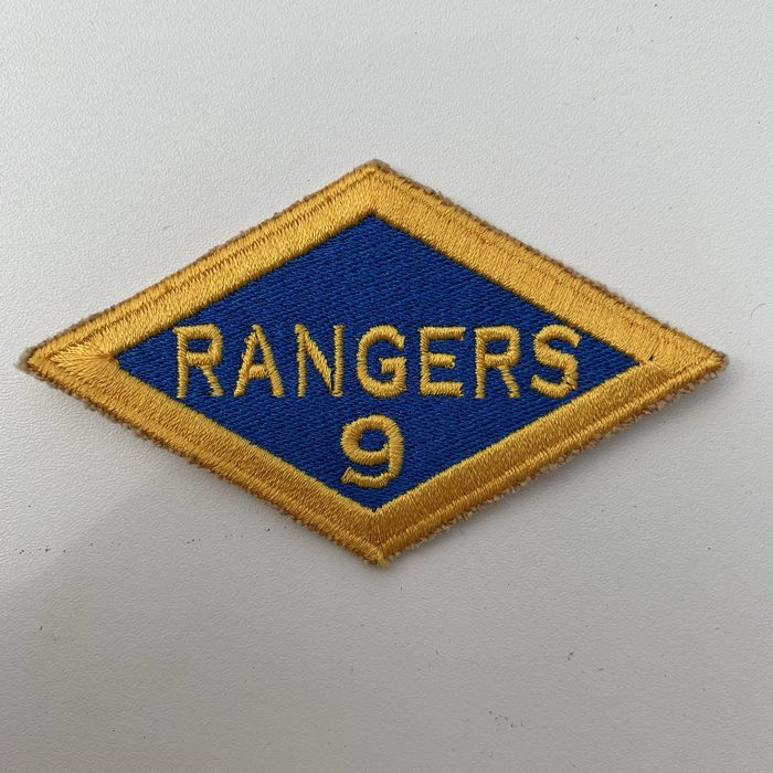 US United States WW2 9th Rangers Battalion ARMY Shoulder Diamond Badge Patch