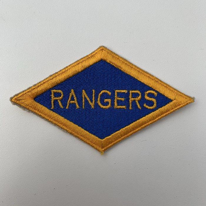 US United States WW2 Rangers Battalion ARMY Shoulder Diamond Badge Patch BLUE