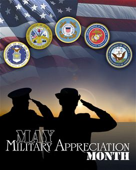 NMAM, National Military Appreciation Month