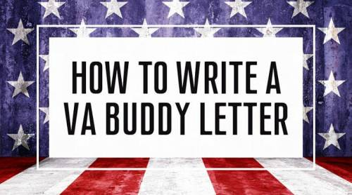 How To Write A VA Buddy Letter