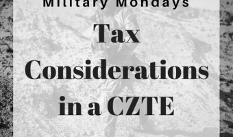 Tax Considerations in a Combat Zone