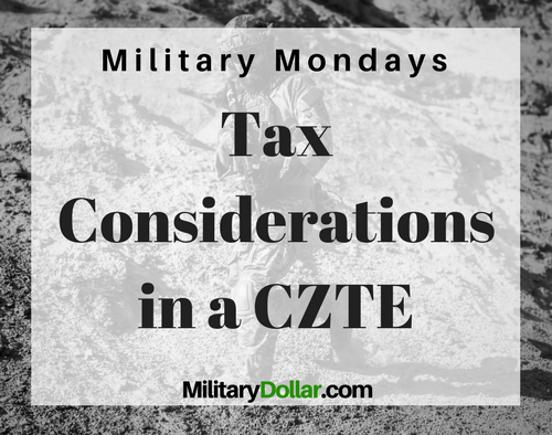 Combat Zone Tax Exclusion