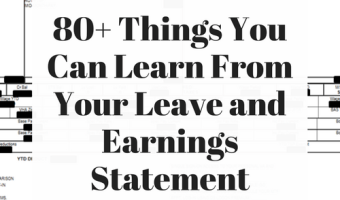 80+ Things You Can Learn From Your Leave and Earnings Statement