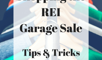 REI Garage Sale Tips and Tricks