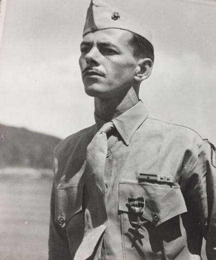 Marine Private First Class Louis A. Hamilton (Photo courtesy US Marine Corps)
