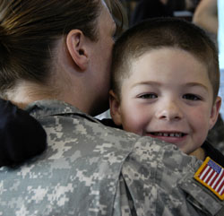 children of service members