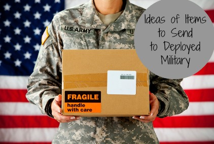 Ideas of Items to Send to Deployed Family Members