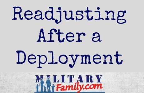 readjusting after a deployment