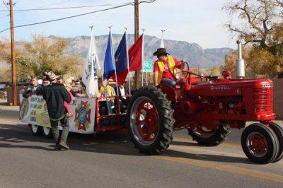 Tracktor in parade