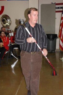 Man with Baton