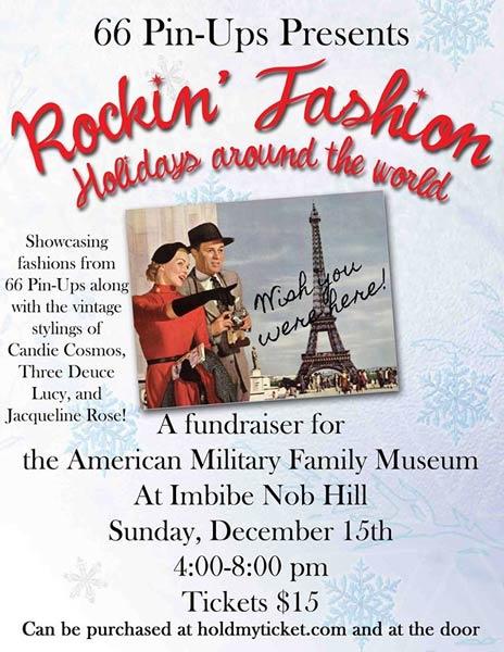 Poster Rockin' Fashion Holidays around the world