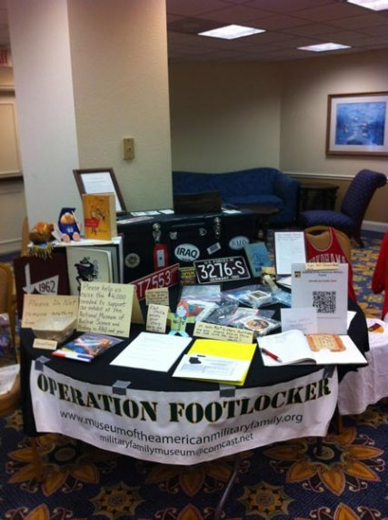 Operation Footlocker table