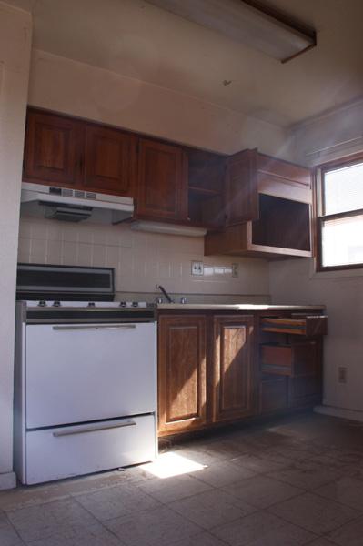 Kitchen of adobe house