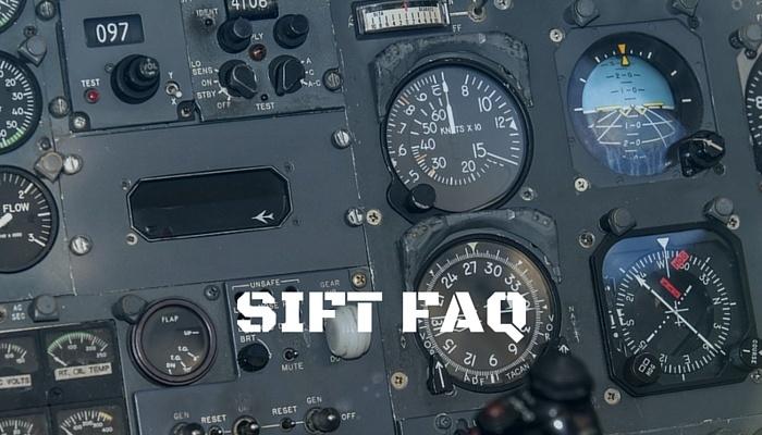 SIFT FAQ, Selection Instrument for Flight Training FAQ, SIFT Questions, Questions about the SIFT