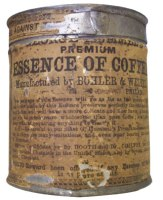 A tin of Essence of Coffee.