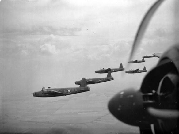 RAF Wellingtons.