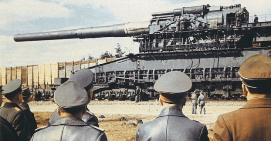 The Schweer Gustav. (Image source: WikiCommons)