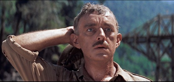 """""""What have I done?"""" Alec Guinness' Col. Nicholson arrives at an unfortunate conclusion in """"Bridge on the River Kwai""""."""