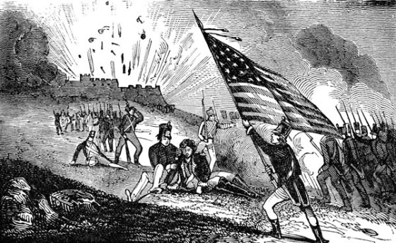 The American general Zebulon Pike was killed by debris following the explosion of a British powder magazine during the War of 1812.