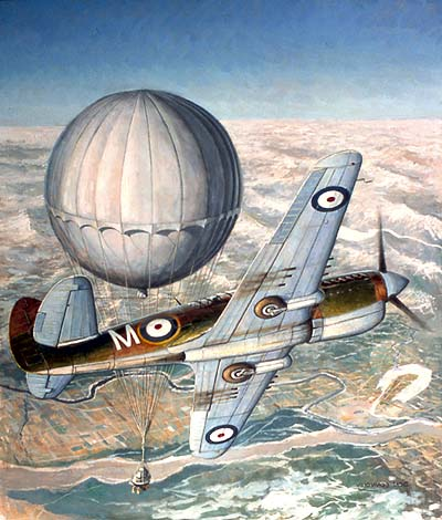 Death From Above – The Bomber Balloons of WW2