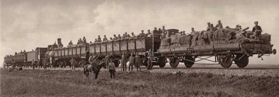 A train of the Czech Legion.