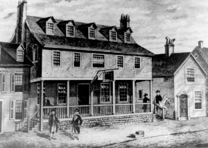 America's first marine corps was recruited from Philadelphia's Tun's Tavern.