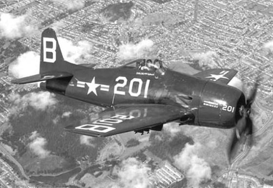 The Grumman F8F Bearcat.
