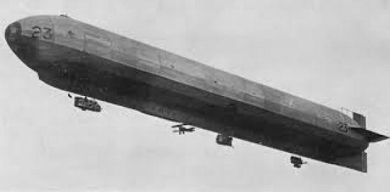 Britain's 23-Class airship.