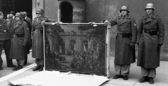 Nazi agents confiscated enough art in World War Two to fill 1.4 million box cars.