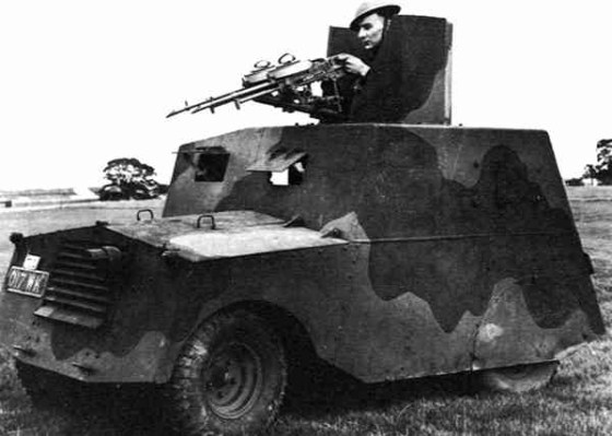 The Beaverette was a pint-sized armoured car that was actually slower than a tank.