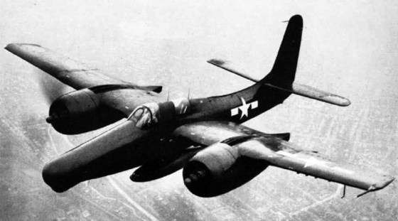 The F7F Tigercat was a super fast, twin-engine, carrier-based fighter plane.