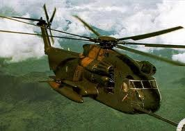 The Sikorsky CH-53.