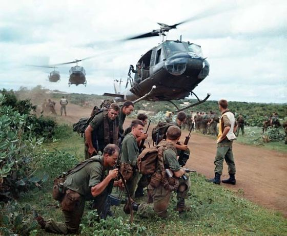 Australian troops in Vietnam. (Image source: WikiCommons)