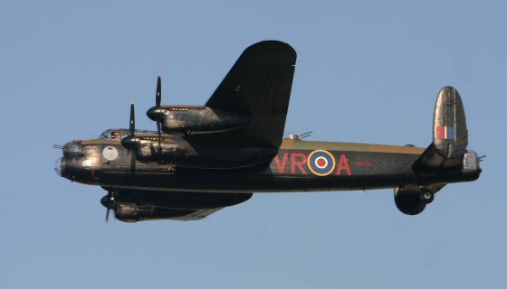 The Canadian Warplane Heritage Museum wants to fly its Avro Lancaster bomber to the U.K. this summer. You could ride along, if the price is right. Photo courtesy the Battle of Britain Memorial Flight.