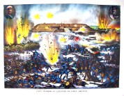 The Russo-Japanese War's Battle of Port Arthur.