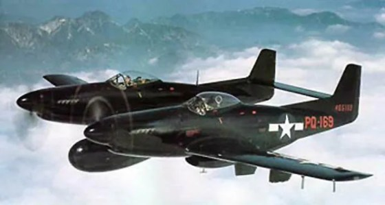 The P-82 Twin Mustang.