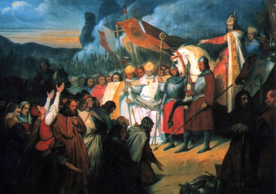 """Charlemagne's military conquests and political manoeuvring helped pull Western Europe out of the """"Dark Ages"""" in the 8th and 9th centuries. See the sword that helped him do it."""