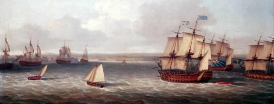 The Battle of Havana began June 6, 1762.
