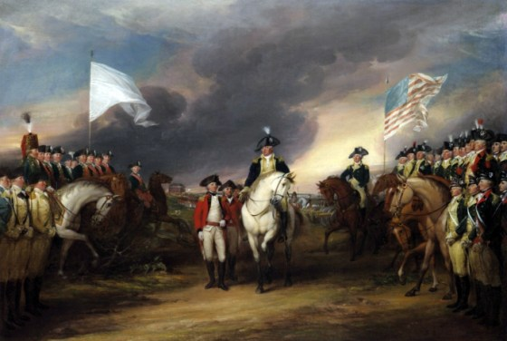 Lord Cornwallis wasn't present for the British surrender at Yorktown. He said he was sick. The dubious honour fell to Brig. Gen. Charles O'Hara.