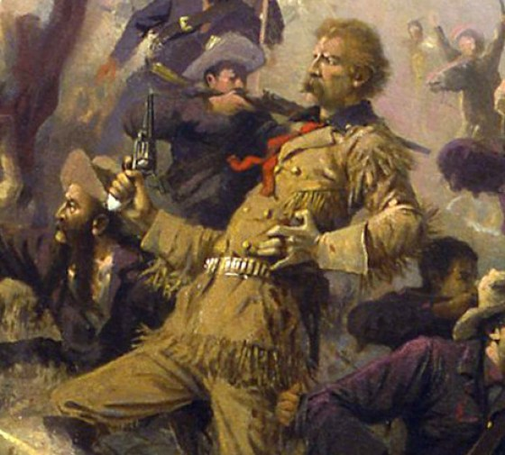 Who would have known what Custer's last words were? All around him were killed.
