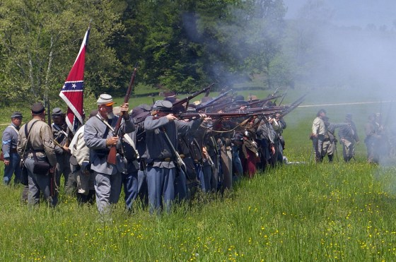 Been there, done that -- Interest in Civil War reenactments is on the decline in the U.S.