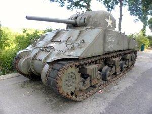 A restored Sherman.