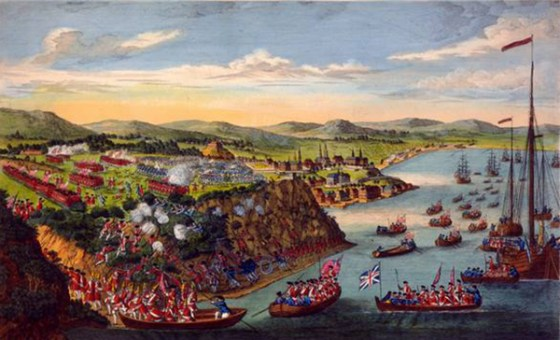 The Battle of Quebec was hardly a wholesale slaughter; fewer than 200 were killed in the 1759 clash. Yet the battlefield is rumoured to be home to some restless spirits. (Image source: Public domain)
