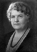 Grace Seibold, the first Gold Star Mother.