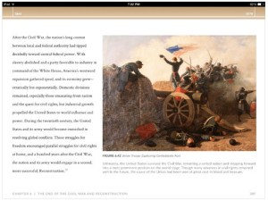 West Point History of the Civil War comes in both print and digital tablet editions.