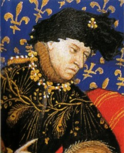 Charles VI of France believed that he was made of glass.