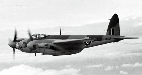 The De Havilland Mosquito's plywood panelling made the aircraft stealthy.