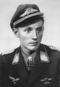 Baby-faced killer -- Erich Hartman destroyed more than 350 Allied warplanes in World War Two, more than four times as many as the Red Baron.